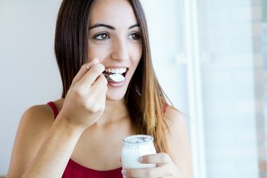 Yogurt is great for healing implants.